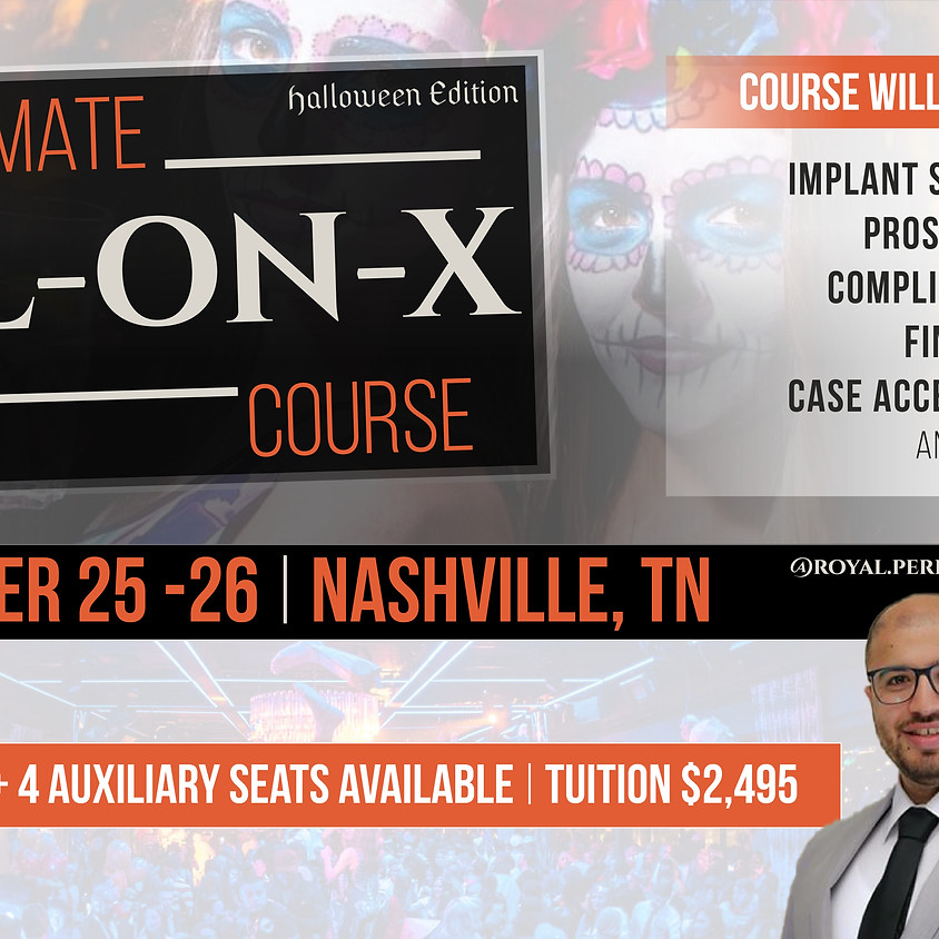The Ultimate All on X Course | Oct. 2019