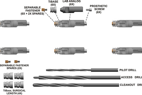 R2F Denture Conversion Recharge Kit