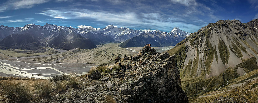 New Zealand Mountains Hunting