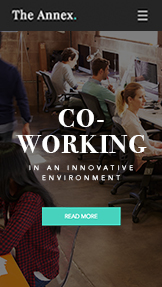 Business website templates – Coworking Space