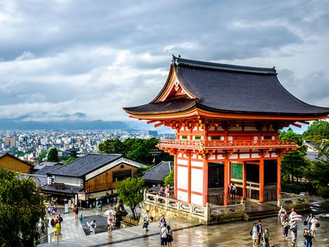 Do bývalého hlavního města Japonska