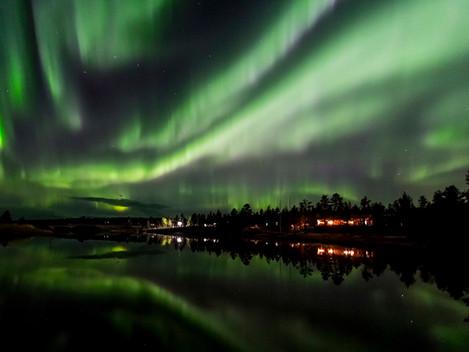 Do Finska za polární září