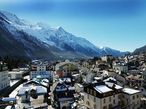 Francouzské Chamonix - Mont Blanc