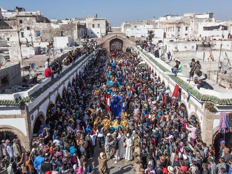 Gnaoua festival v Maroku