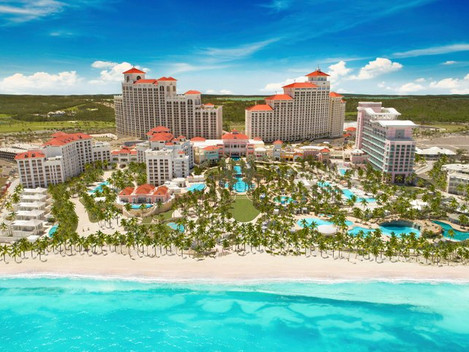New opening na Bahamách