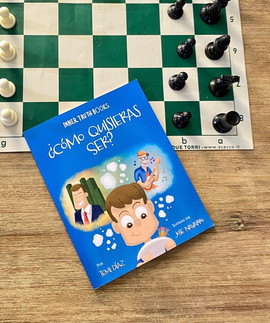 Chess and a book!