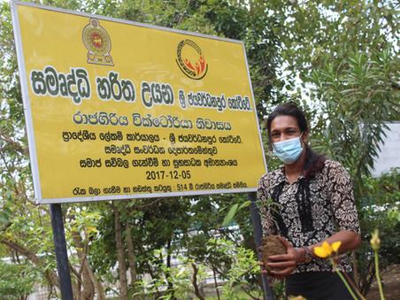 03rd Anniversary Celebration of NTN Sri Lanka - 'Go Green' Project