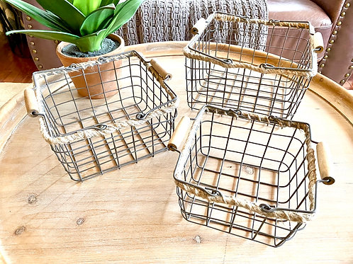 Wire Nesting Baskets