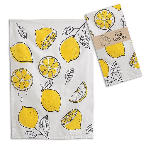Lemons Tea/Kitchen Towel