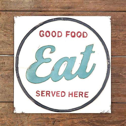 Eat Sign-Vintage
