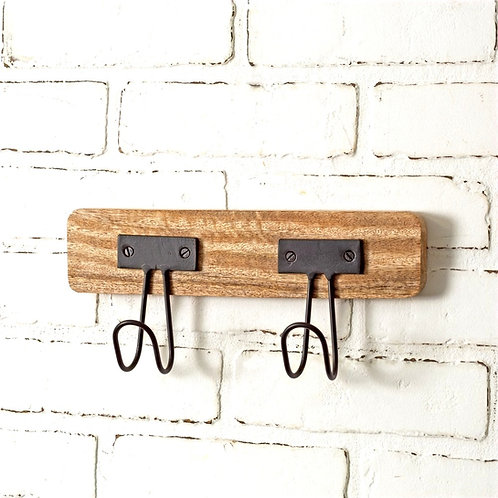 2 Hook Wall Hanger