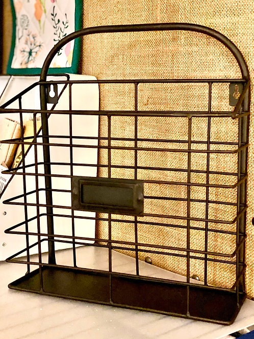 Metal Wall/File Rack