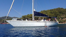 From vintage yacht to ocean cruiser