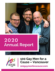 100 Gay Men for a Cause Annual Report 20