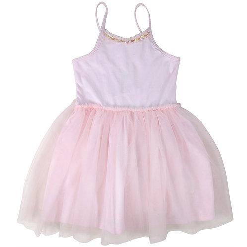 Pink Spaghetti TUT-Kleid