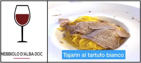 Tajarin al tartufo bianco