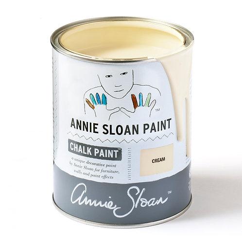 Cream, Annie Sloan Chalk Paint