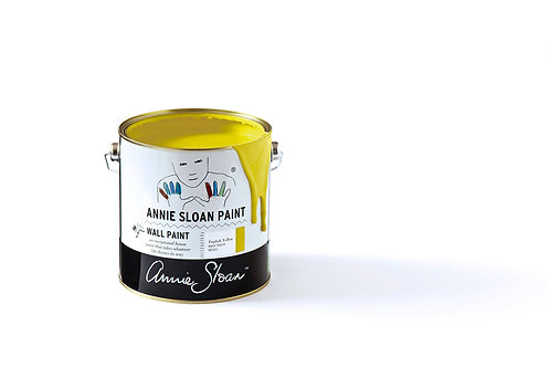 English Yellow, Annie Sloan Wall Paint 2,5L