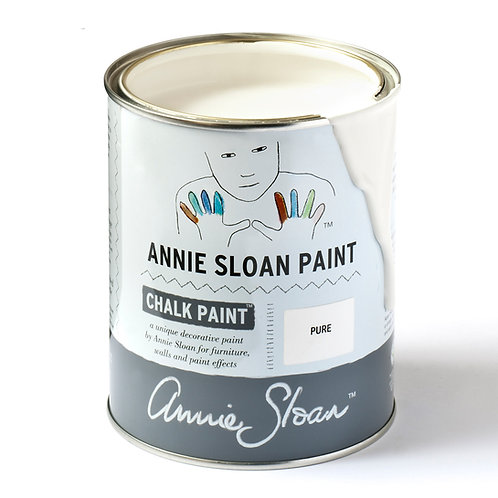 Pure, Annie Sloan Chalk Paint