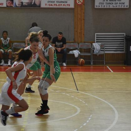 Tain Tournon vs U18 F