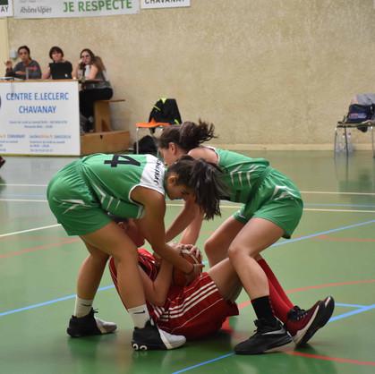 U18 F vs Saint-Marcel lès Annonay