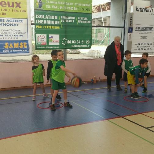 Rassemblement U7 à Annonay