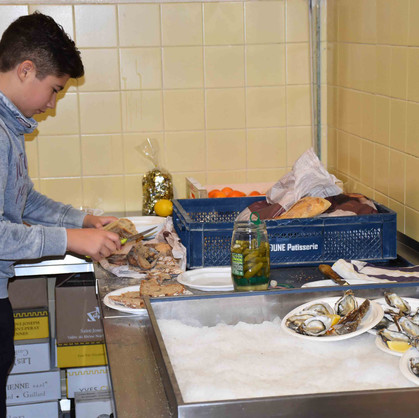 Soirée huîtres
