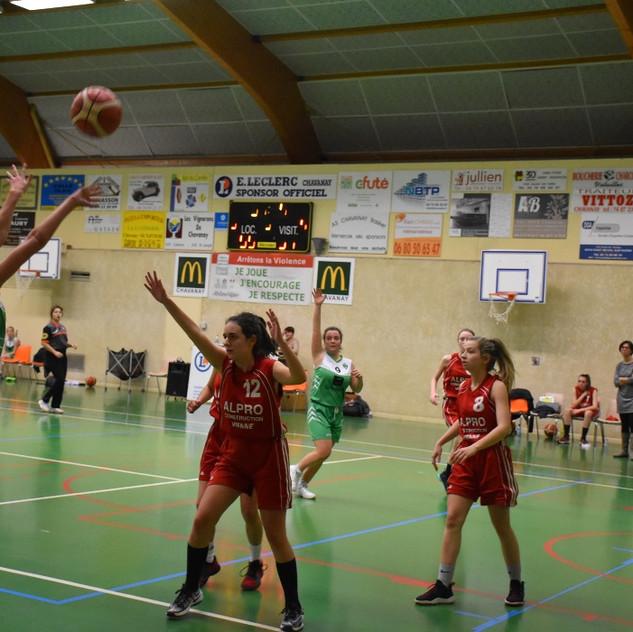 U18 F vs Saint-Marcel-lès-Annonay