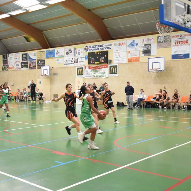 U18 F vs Le Teil