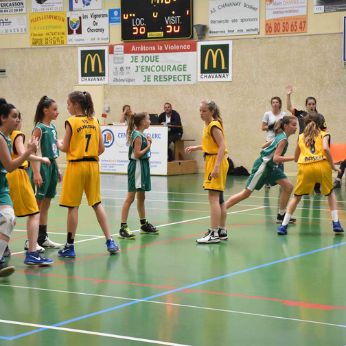 U13 F vs Aubenas [quart-de-finale]