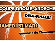 Demi-finales coupe Drôme-Ardèche