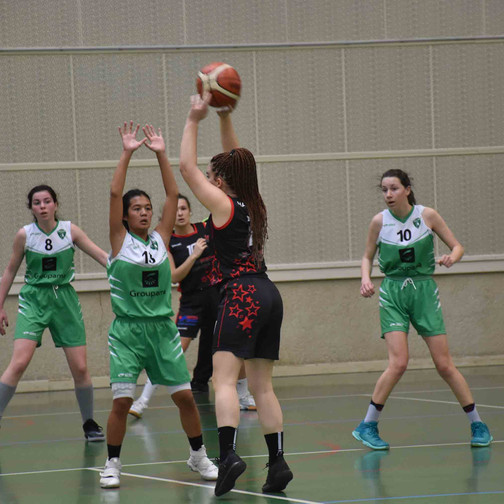 U18 F vs Hauterives - 3 mars 2019 [quart