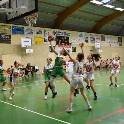 AS Chavanay Basket vs Die [U17 F]