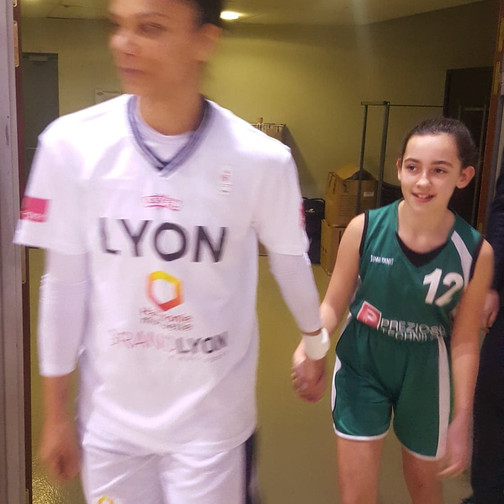 Sortie club Lyon ASVEL Féminin