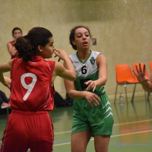 U18 F vs Saint-Paul 3 Châteaux