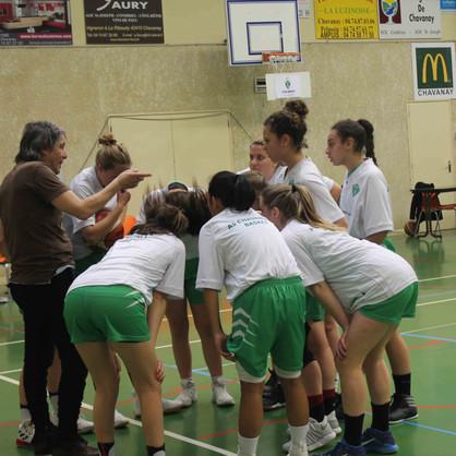 2_échauffement (6)AS Chavanay Basket