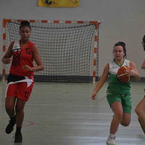 Serrières vs U18 F [coupe Drôme-Ardèche]