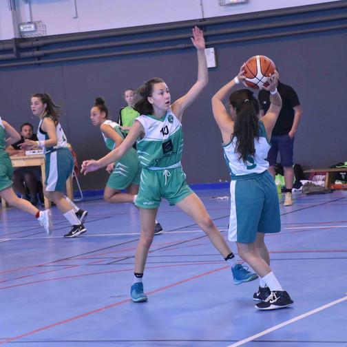 U18 F vs AS Rhodanienne