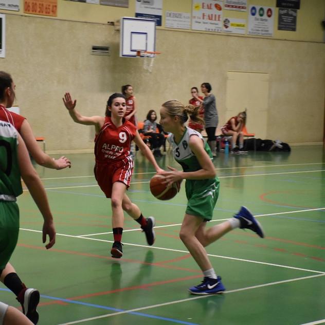 U18 F vs Saint-Marcel-lès-Annonay (2)