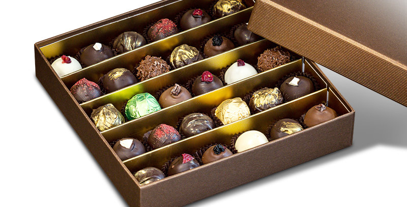 Box With Chocolates, 30 pcs