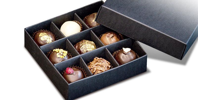 Box With Chocolates, 9pcs