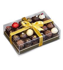 24 truffle transparent plastic box  174x120x45mm.jpg