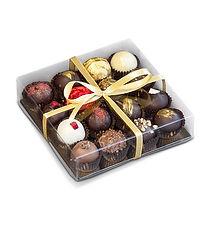 16 truffle transparent plastic box  123x120x32mm.jpeg