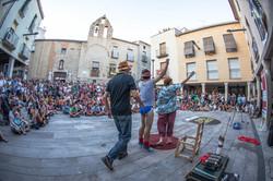 Playing people Barcelona