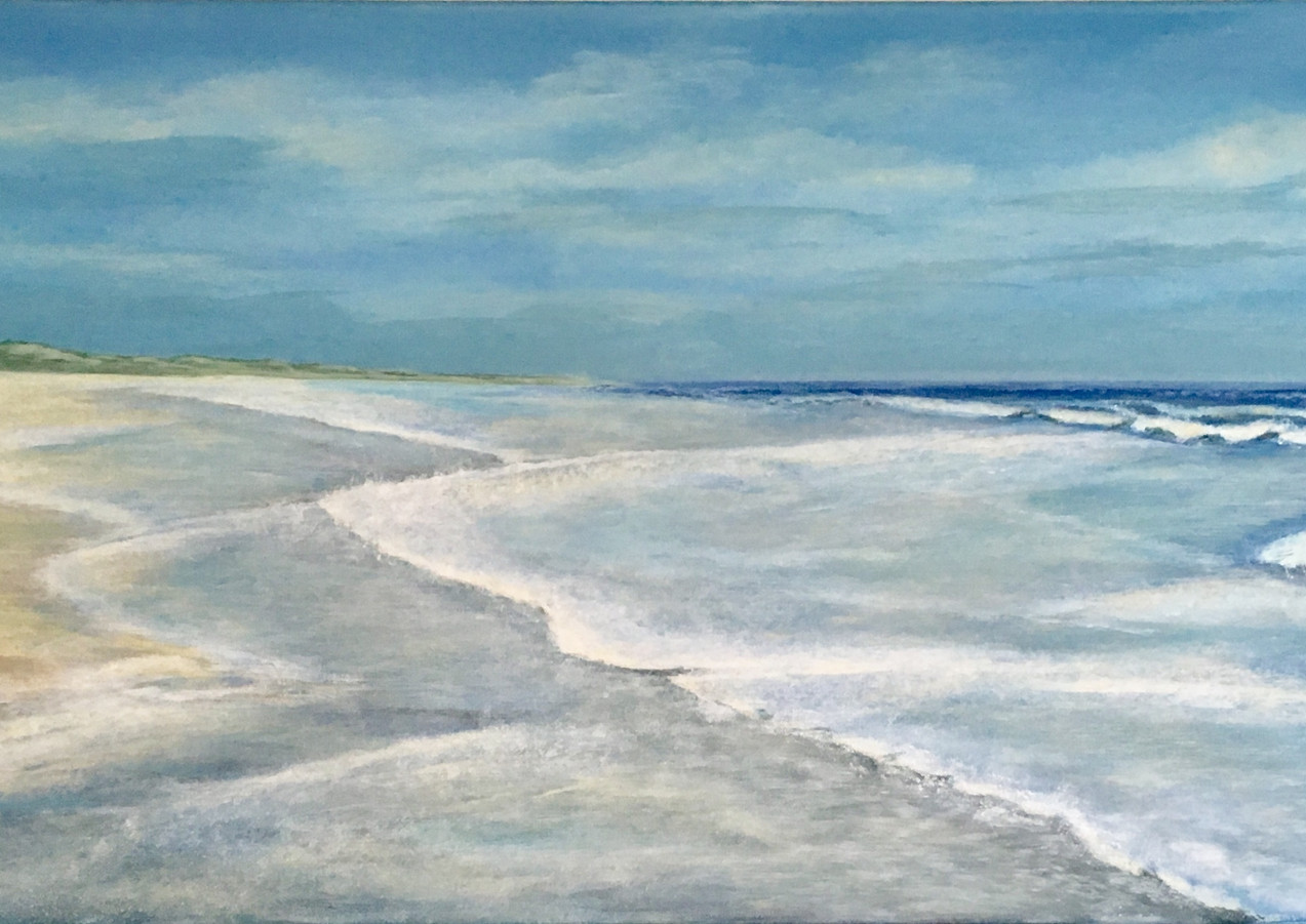 Uitwaaiende golven