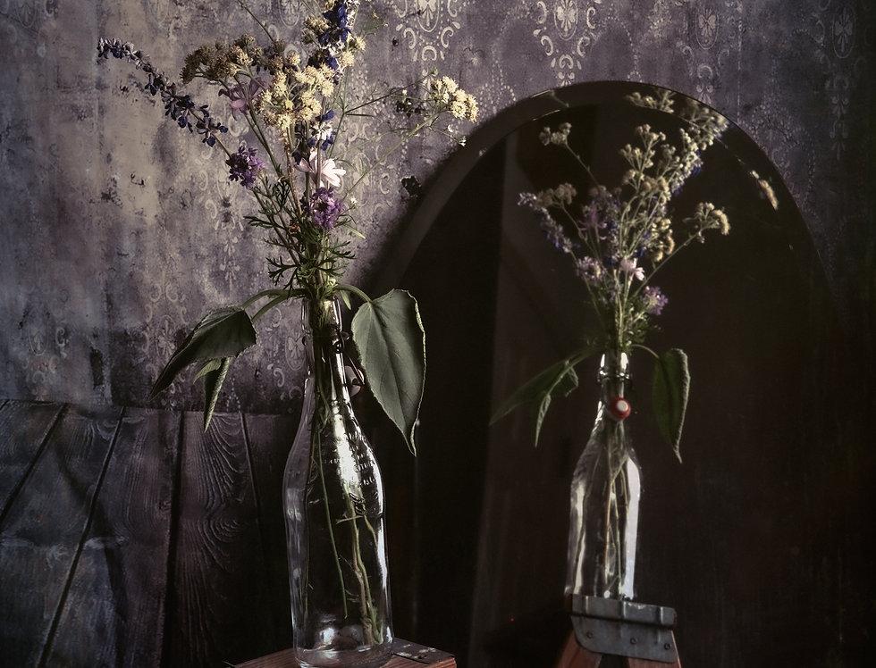 Dark Floral Fine Art Archival Print 20 x 30