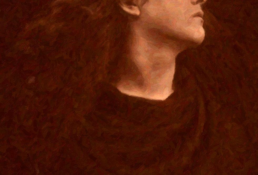 Cameron digital oil on canvas