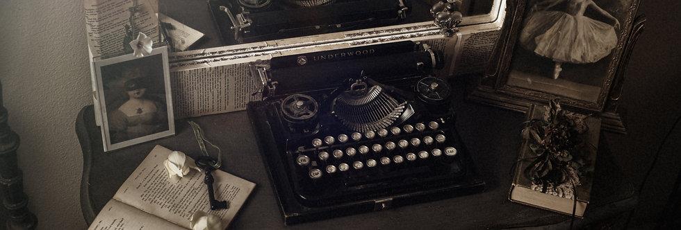 Typewriter 20 x 30 Fine Art Archival print