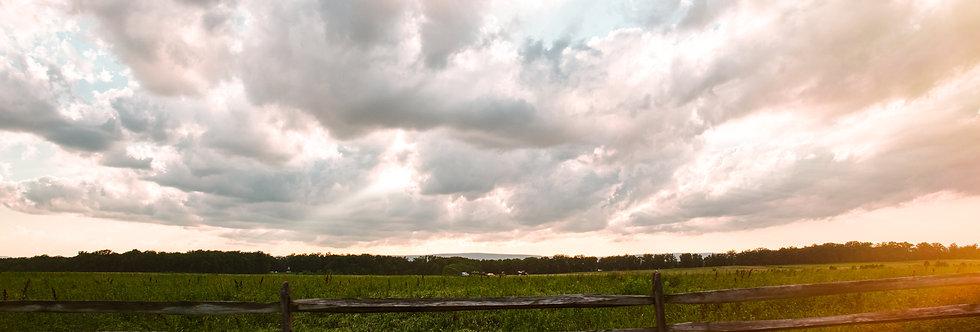 Sunset At Gettysburg 20 x 30 print