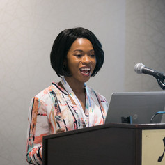 Ms. Erica Guyton, MorganFranklin Consulting, presented on Mentoring In the Workplace.